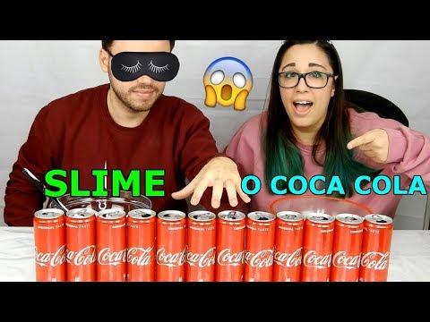 SLIME NON SCEGLIERE LA LATTINA DI COCA COLA SBAGLIATA! (SLIME O COCACOLA?) Iolanda Sweets