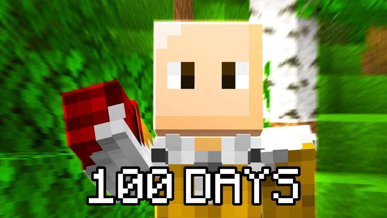 Download I Played Minecraft One Punch Man For 100 DAYS... This Is What Happened