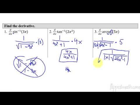 10.4 Usubstitution Trig Functionsap Calculus