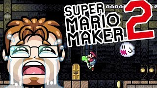 Super Mario Maker 2 - Playing Your Courses LIVE! GHOST HOUSES