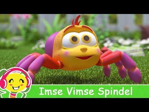 Cantec nou: Imse Vimse Spindel  Barnsnger p svenska
