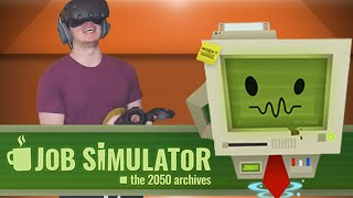 A TASTY FINALE!! - Job Simulator HTC Vive Gameplay
