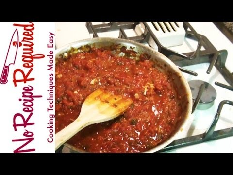 Spicy Arrabiata Sauce - NoRecipeRequired.com