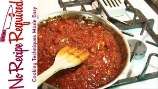 Spicy Arrabiata Sauce - Noreciperequired.com
