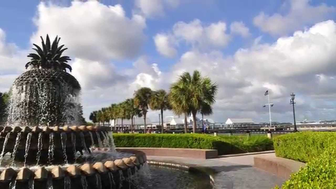 The Battery  Waterfront Park  Charleston SC  YouTube