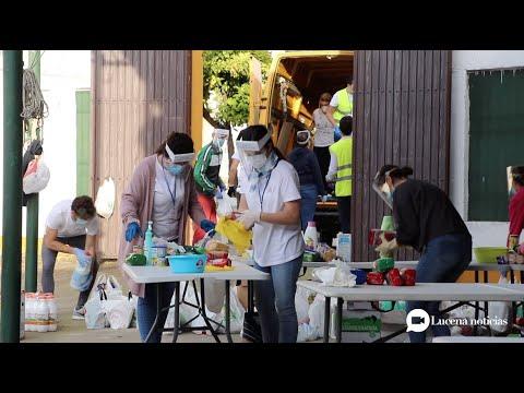 VÍDEO: El grupo Jóvenes Cristianos de Lucena consigue reunir más de 35.000 kilos de alimentos para Cáritas