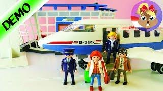 Playmobil CHARTERVLIEGTUIG | Op Vakantie! Playmobil Luchthaven - Speel Met Mij Kinderspeelgoed