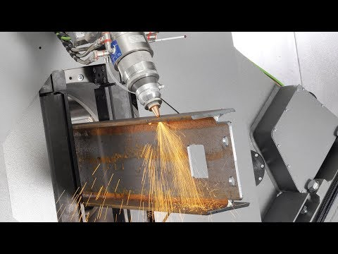 3D Laser Cutting For Tubes, Structural Steel Beams And Profiles Lasertube LT14 / LT24 | BLM GROUP