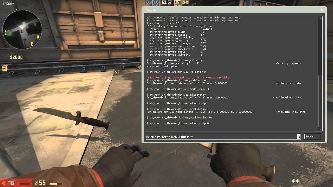 Sm knife для сервера css отопление сайты москва