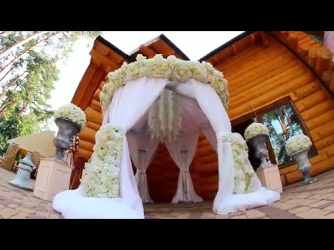 Видео Оформление стола невесты и жениха