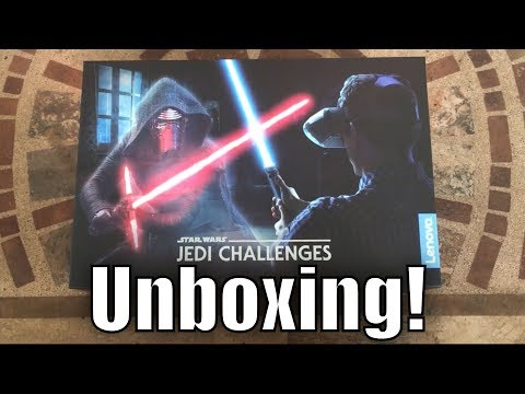 Star Wars: Jedi Challenges AR  Game Unboxing Promotion
