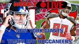 New York Giants vs Tampa Bay Buccaneers 2019 Week 3 LIVE Play-By-Play