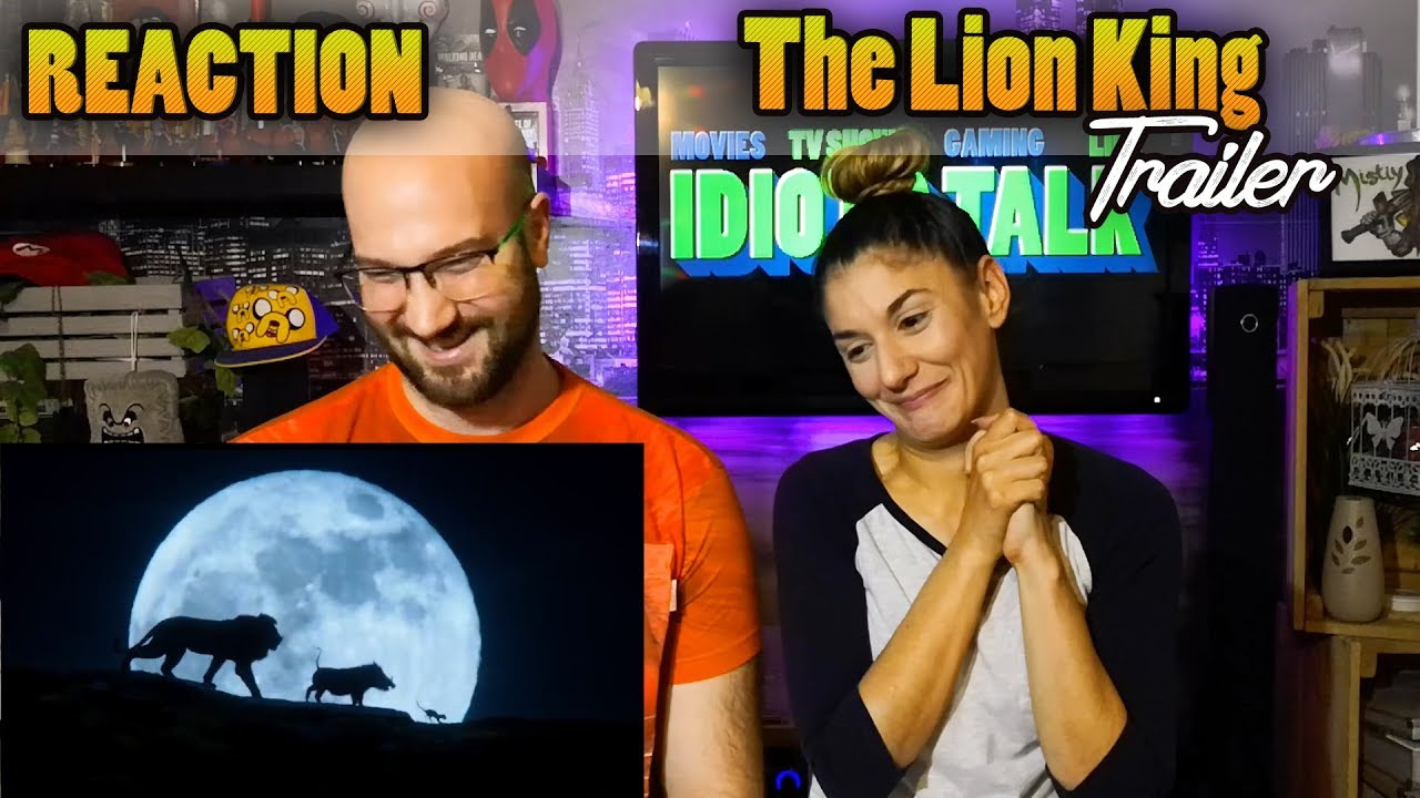 the lion king trailer - reaction  u0026 review