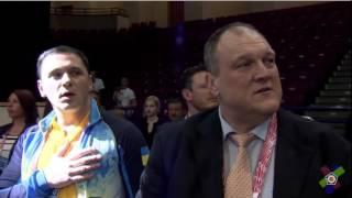 Гимн Украины - чемпионат Европы по дзюдо - Белодед и Зантарая