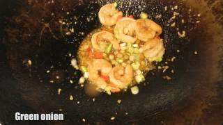 Spicy Pepper Shrimp Recipe - Loaded With Serrano And Thai Chili Peppers