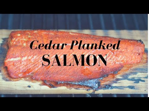 How To Make Super Simple Cedar Planked Salmon That Tastes Delicious!