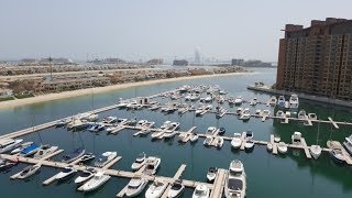 Furnished 3 bedroom apartment Type A - for rent- Marina Residences Palm Jumeirah Dubai