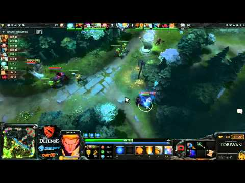 The Defense 3 - VirtusPro vs Evil Geniuses Game 1