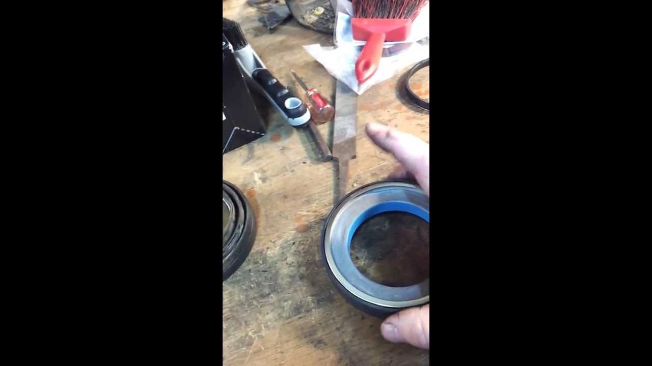2000 F250 Front Axle Rebuild Part 1 Youtube