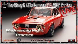 Gambar cover 🔴Simpit Alfa Romeo GTA SRS Series at Barbagallo Raceway (Practice Session) Live-Stream
