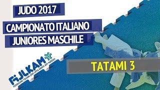 JUDO - Campionato Italiano Juniores Maschile - Tatami 3