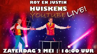 Roy en Justin Huiskens YouTube LIVE!