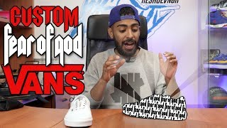 How to make custom Fear of God Vans