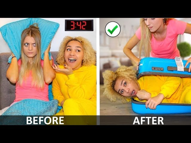 Annoying My Best Friends & Funny Facts! Girl DIY Life Hacks