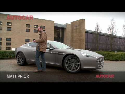 Aston Martin Rapide driven by autocar.co.uk