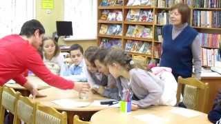 Детская библиотека № 104 - час информации ''Вода на благо мира между народами''