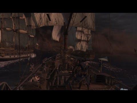 Battle of Chesapeake (Full Sync) - Assassins Creed III Story Mission