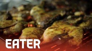Jerk Chicken At Peppa's Jerk Chicken - Sietsema's Secrets