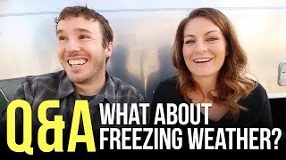 How Do You Keep Your RV Warm in Freezing Weather
