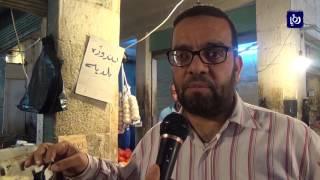 الحركة التجارية في الزرقاء مع اقتراب شهر رمضان