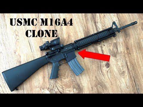 Latest Acquisition: USMC M16A4 Clone With Trijicon TA31-RCO-A4 ACOG.