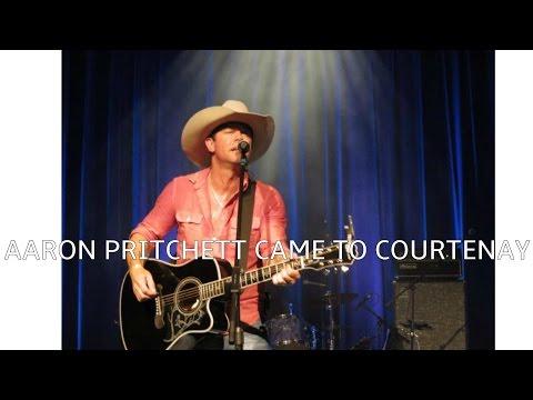 Aaron Pritchett Live