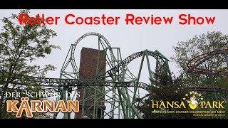 Kärnan, Hansa Park - Roller Coaster Review Show