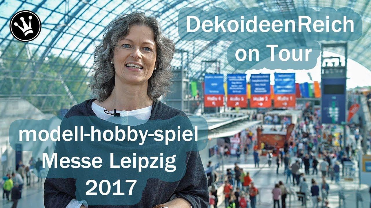dekoideenreich on tour deutschland gr tes bastelatelier modell hobby spiel 2017 messe. Black Bedroom Furniture Sets. Home Design Ideas