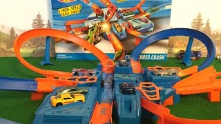 Hot Wheel Criss Cross Crash Set - Unboxing and Review