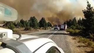 Incendio en Epuyén
