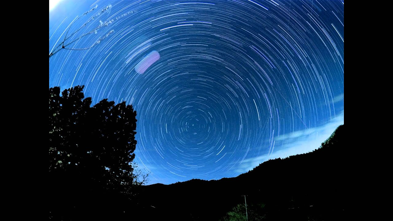 GoProで星空をタイムラプス撮影したら、想像以上に鮮明に撮れた!