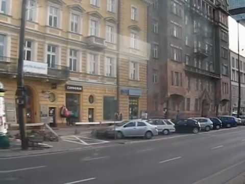 Aleje Jerozolimskie - The Main Warsaw East West Artery Through The Centrum