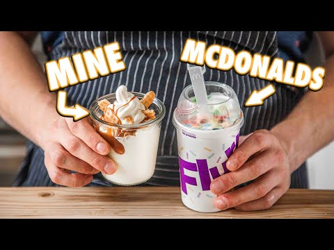 Making The McDonalds McFlurry At Home   But Better