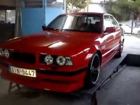 bmw e34 m5 by bathas tuning youtube. Black Bedroom Furniture Sets. Home Design Ideas