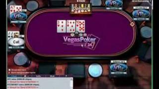 KFE $10 SNG Strategy NL Holdem Online Poker Tutorial 4/5
