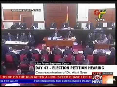 Election Petition Hearing on Joy News - Day 43 (15-7-13)