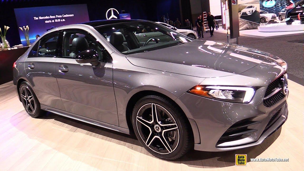 2020 Mercedes A220 4Matic - Exterior Interior Walkaround - 2019 LA Auto Show