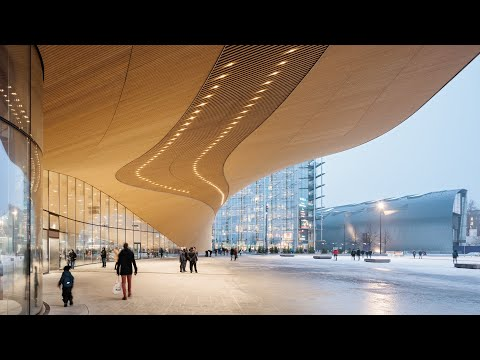 MFA Friday Clip: Finnish Architecture – Review 2020: Helsinki Central Library Oodi