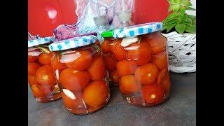 Солим помидорки по немецкому рецепту !