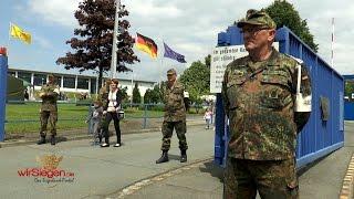 Tag der offenen Tür bei der Bundeswehr auf dem Hachenberg ein voller Erfolg (Erndtebrück/NRW)